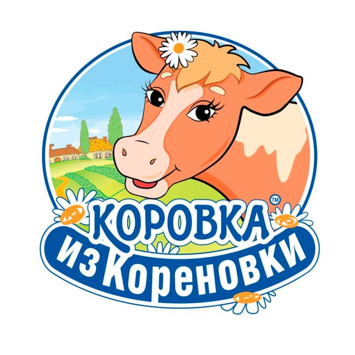 Коровка из Кореновки (логотип)